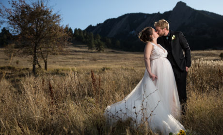 Colorado Wedding Photography Services | Blue Spruce Wedding Photo | Michaela and Huston